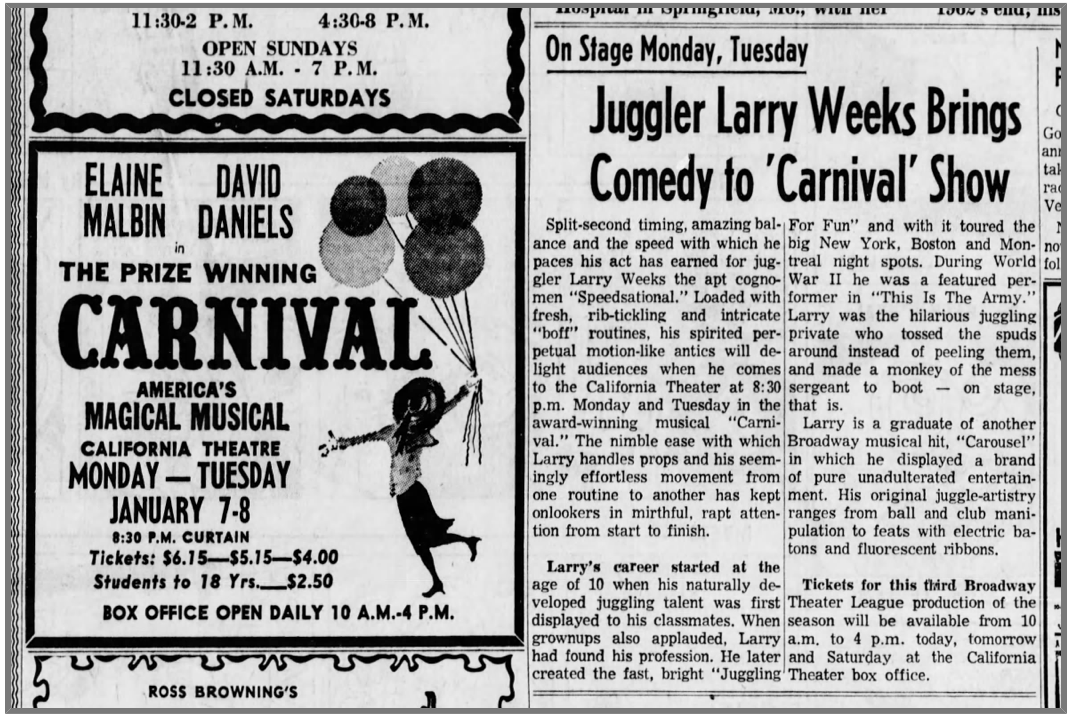 Larry Weeks Carnival